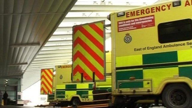 East of England ambulances