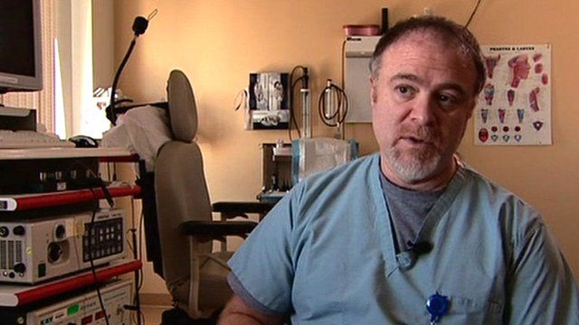 Dr Steven Zeitels, the surgeon who operated on Adele's throat, explains the procedure