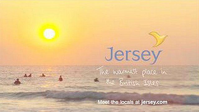Jersey Tourism advert