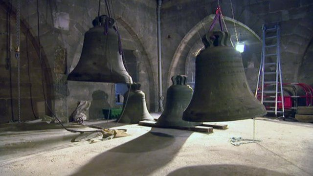 Bells in Notre Dame Cathedral