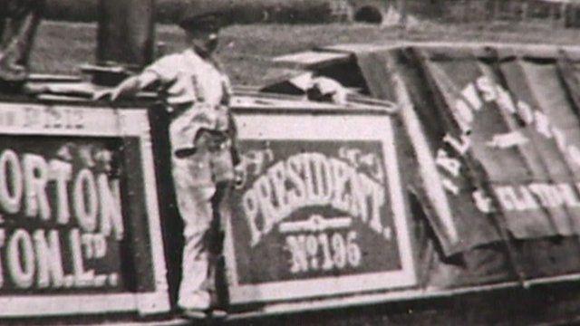 President steam narrowboat