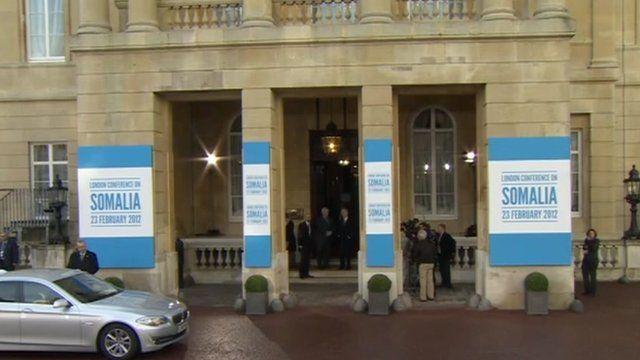 Somalia conference in London.