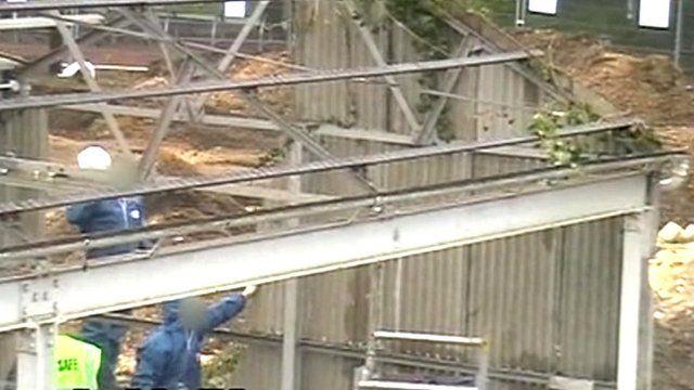 Secret filming of demolition in 2008