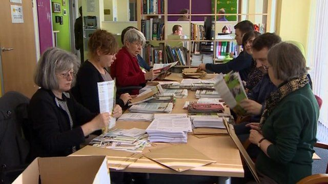 Preparing ballot papers