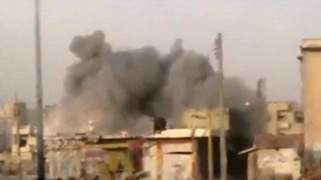 Bombing in Syria