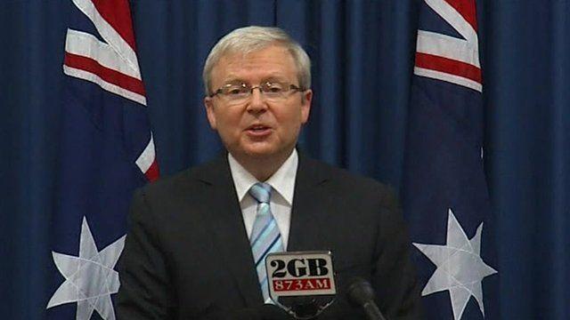 Australia's former Foreign Minister, Kevin Rudd