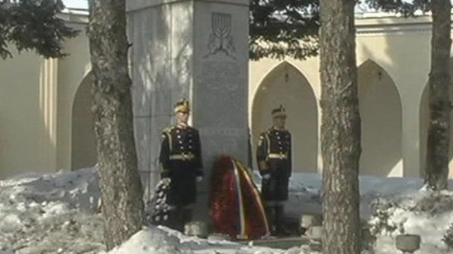 Memorial in Romania