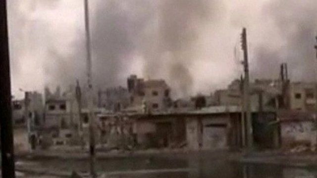 Shelling of Homs