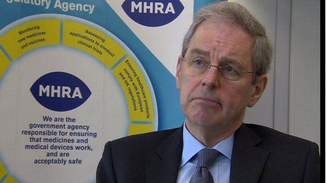 Prof Sir Kent Woods, Chief Executive, MHRA