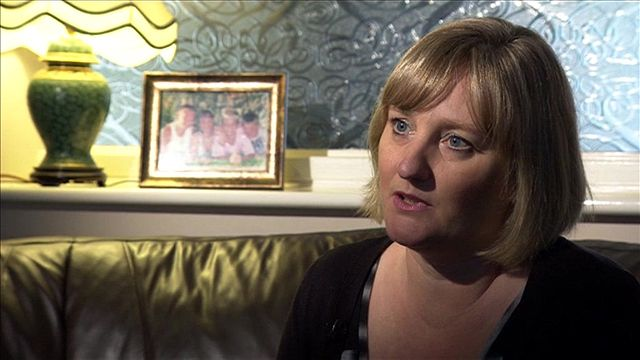 Jayne Thomas's daughter is on the Costa Allegra, which is adrift in the Indian Ocean