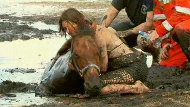 Nicole Graham with horse Astro