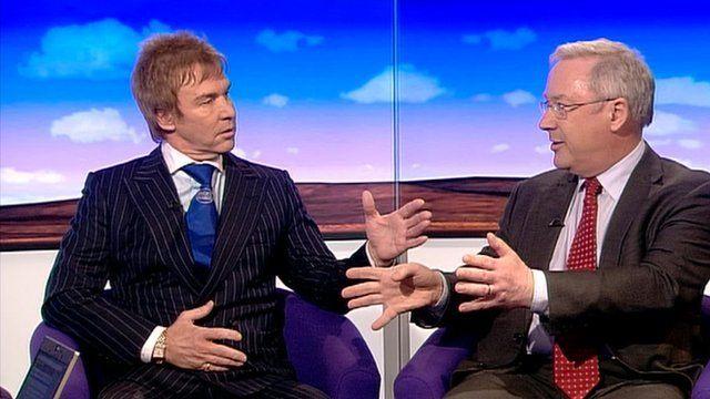 Charlie Mullins and Richard Murphy