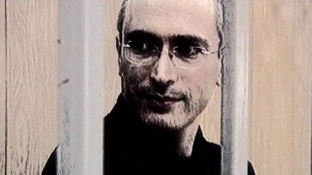 Mikhail Khodorkovsky in jail