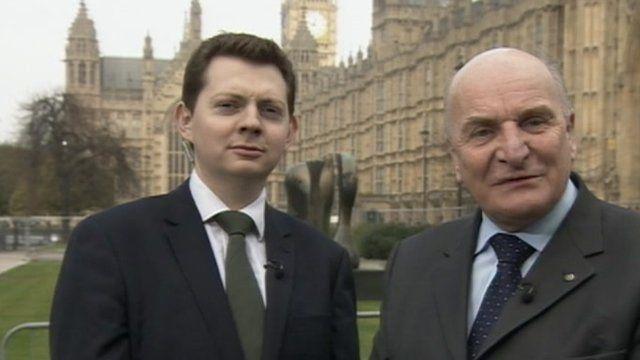 Matt Chorley and Stephen Pound