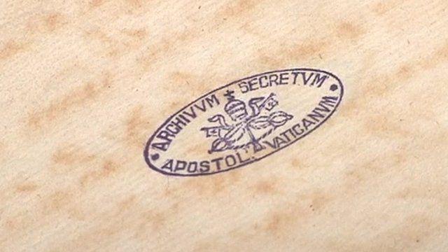 Vatican's secret archive on show
