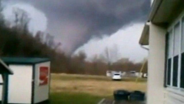Tornado looms near home.