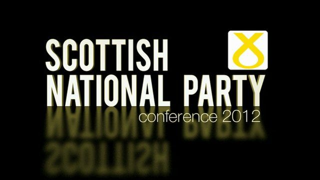 Scottish National Party conference 2012