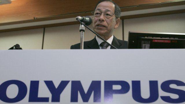 Ex-chairman Tsuyoshi Kikukawa of Olympus