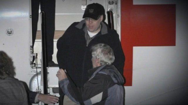 Former hostage Peter Moore