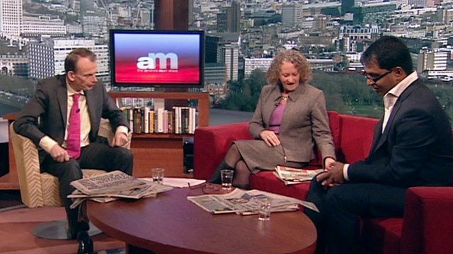 Andrew Marr and guests
