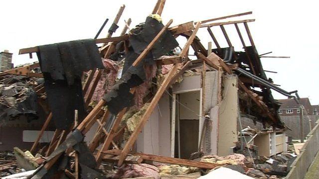 Leverington bungalow blast