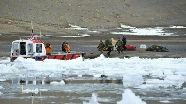 Ice patrol ship rescue