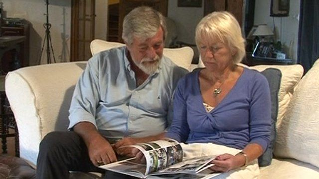 Nigel and Sue Varian