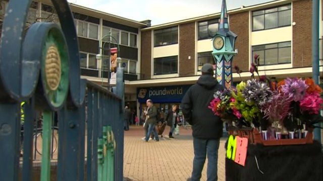 Knowsley, Merseyside, where many businesses have been struggling.