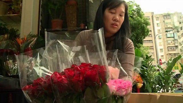 Florist in Taipei, Taiwan