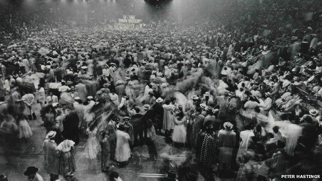 Moondog Coronation Ball in Cleveland, Ohio on 21 March 1952