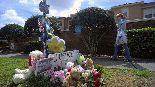 Memorial for Trayvon Martin
