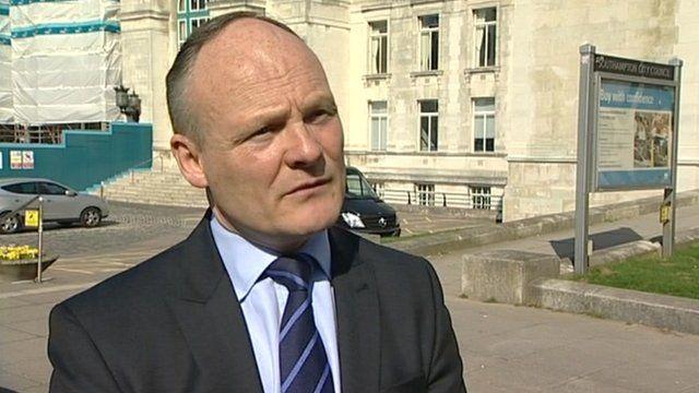 Southampton council leader Royston Smith