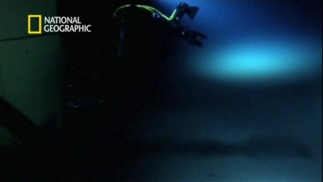 The Mariana Trench, courtesy National Geographic