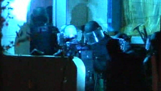 Dawn raids in France