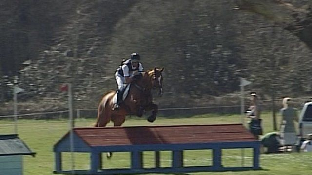 Mark Todd at Somerley Park in Hampshire