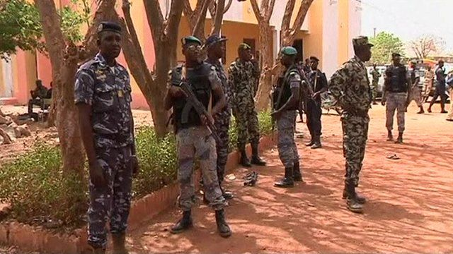 Soldiers in Mali