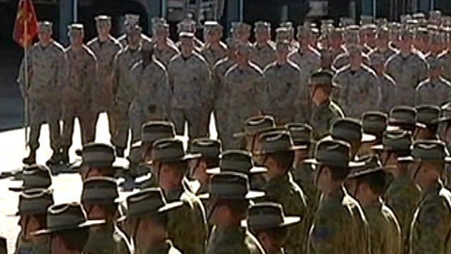 US Marines in Darwin