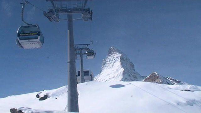 Ski lifts in Switzerland