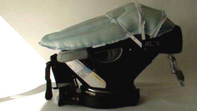 Toddler airbag