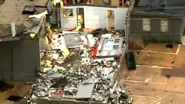 House destroyed by tornado in Oklahoma