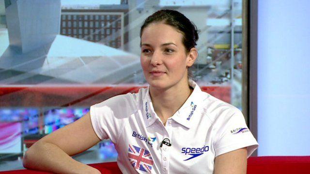 Swimmer Kerri-Anne