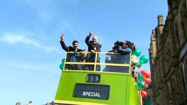 Campaign bus
