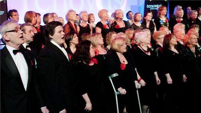 Sing For Life choir