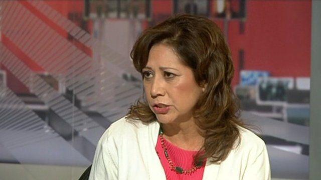 Hilda Solis on World News America