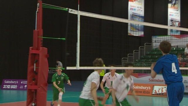 Volleyball at the 2012 School Games