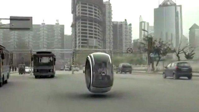 Volkswagen unveils hover car idea