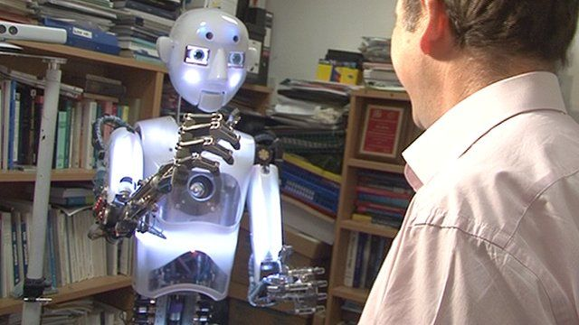 WATCH: A demonstration of how robot 'beaming' technology works