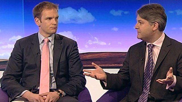 Dr Dan Poulter and Philip Davies