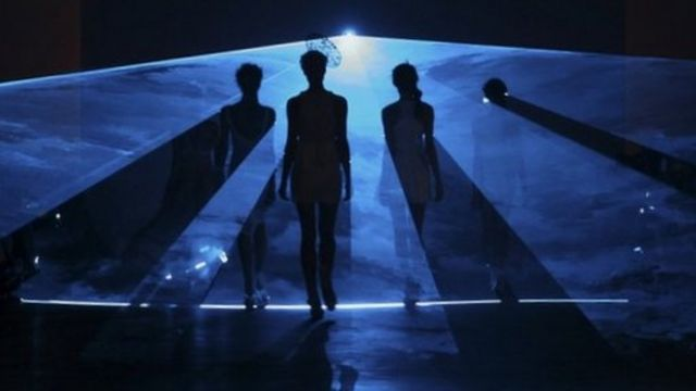 Models at Australian Fashion Week