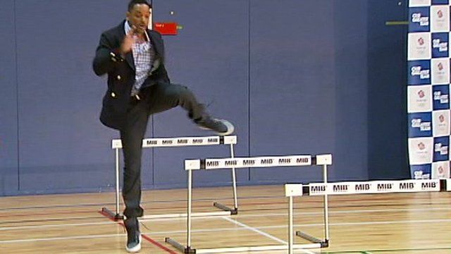 Will Smith meets Team GB